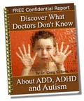 ADD, ADHD report