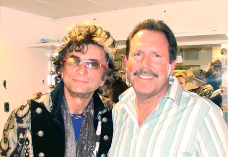 Jim Peterik, Rock legend, with Dr Ross