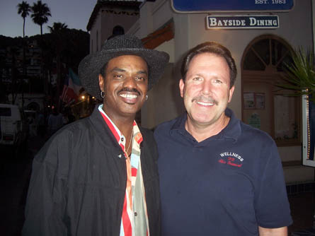 Nick Colionne, Jazz Guitarist, with Dr. Ross